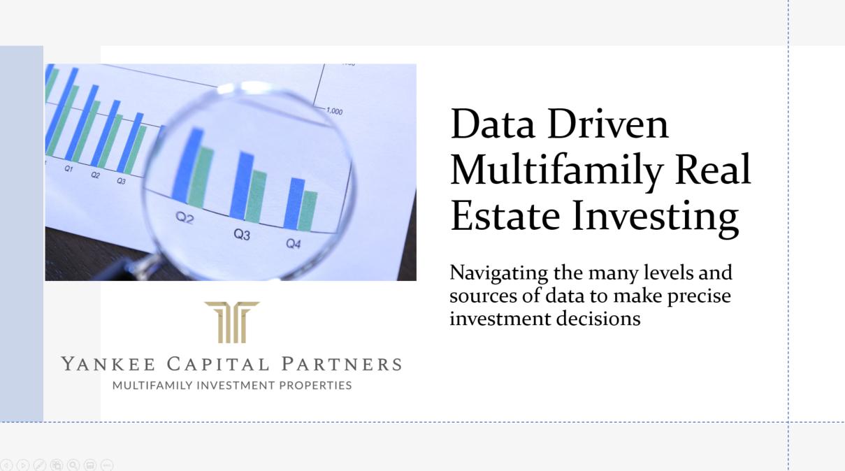 Data Driven Real Estate Investing Module